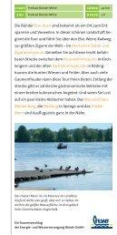 Radwanderkarte für Bünde - Energie- und Wasserversorgung ...