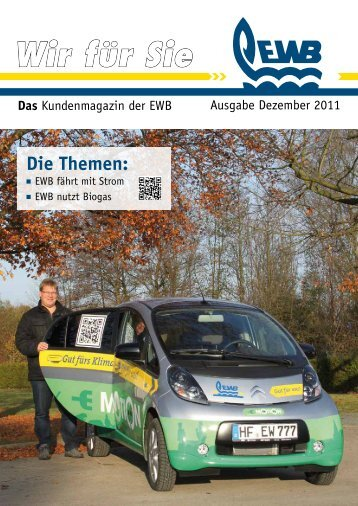 Wir für Sie - Energie- und Wasserversorgung Bünde GmbH