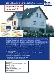 Energieausweis - Energie- und Wasserversorgung Bünde GmbH