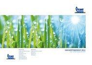 geschäftsbericht 2011 - Energie- und Wasserversorgung Bünde ...