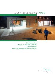 Jahresrechnung 2009 - Wasser- und Elektrizitätswerk der Gemeinde ...
