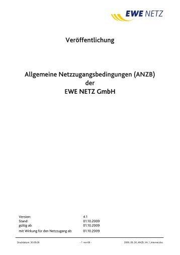 ANZB - EWE NETZ GmbH