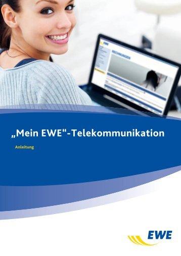"""""""Mein EWE""""-Telekommunikation"""