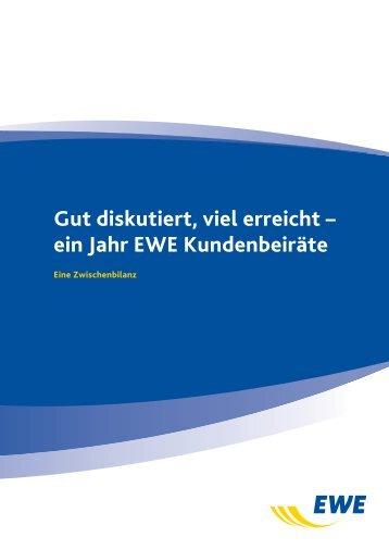 Dieses Arbeitspapier (PDF) - EWE AG