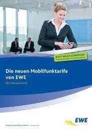 Broschüre EWE Professional Tarife