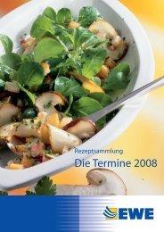 Rezepte zum Download 2008 - EWE AG