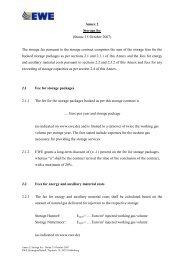 Annex 2 Storage fee (Status: 15 October 2007) The storage fee ...