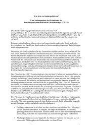Resolution gegen Studiengebühren - EWFT