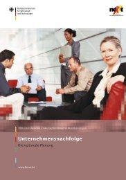 Unternehmensnachfolge - EWG – Entwicklungs