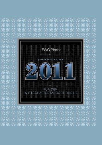 Geschäftsbericht 2011 - EWG – Entwicklungs