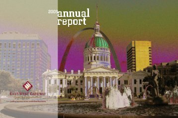 2009 Annual Report - East-West Gateway Coordinating Council