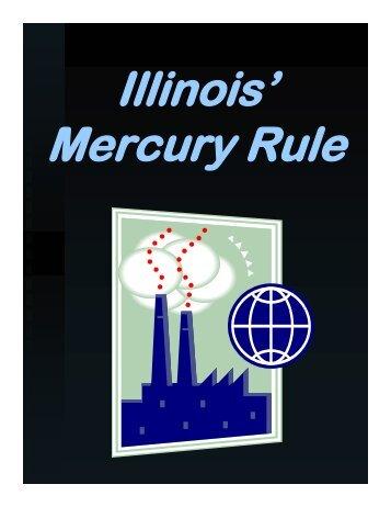 Slideshow: Illinois' Mercury Rule - 09/21/06