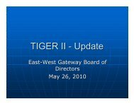 PDF version - East-West Gateway Coordinating Council