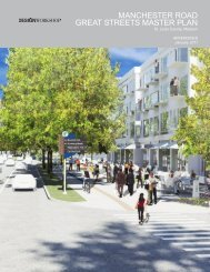 manchester road great streets master plan - East-West Gateway ...