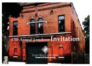 47th Annual Luncheon Invitation - East-West Gateway Coordinating ...
