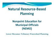 What is Natural Resource-Based Planning?