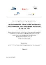 Studie - Energiewirtschaftliches Institut an der Universität zu Köln