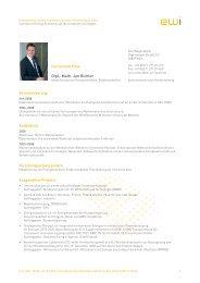 Dipl.-Math. Jan Richter - Energiewirtschaftliches Institut an der ...