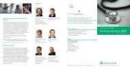Jahresprogramm 2011 - Asklepios