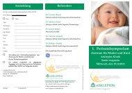 Agenda Einladung - Asklepios Kinderklinik Sankt Augustin