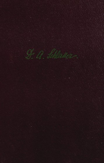 Die Evangelien nach Markus und Lukas - Offenbarung.ch