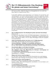 Programm der Ringvorlesung [pdf] - Eine Welt Netzwerk Hamburg eV