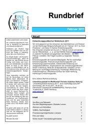 RB Februar 2011.pdf - Eine Welt Netzwerk Hamburg eV