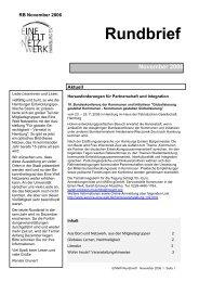 Rundbrief November.pdf - Eine Welt Netzwerk Hamburg eV