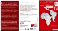 Flyer zur Ringvorlesung 2010/2011 - Eine Welt Netzwerk Hamburg eV