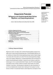 Diasporische Potenziale - BER