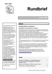Rundbrief Januar 2006 [pdf] - Eine Welt Netzwerk Hamburg eV