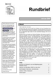 Rundbrief Januar 2005 [pdf] - Eine Welt Netzwerk Hamburg eV