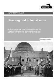 Hamburg und Kolonialismus - wandsbektransformance