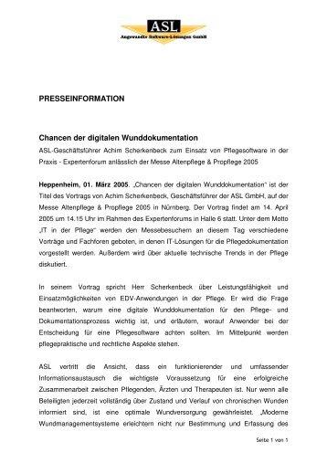 PDF downloaden - ASL