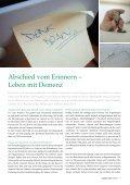 Abschied vom Erinnern – Leben mit Demenz - Asklepios - Seite 7