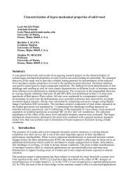 Characterization of hygro-mechanical properties of solid wood ...
