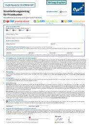 Vertragsunterlagen finden Sie hier - EWR GmbH