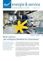 Ausgabe herunterladen - EWR GmbH