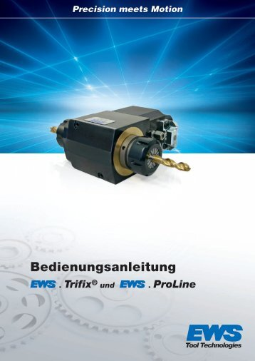 Bedienungsanleitung Trifix© und ProLine - EWS