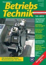Download Betriebstechnik Pressebericht: PDF - EWS