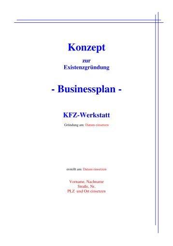 business plan mustermann gmbh stock