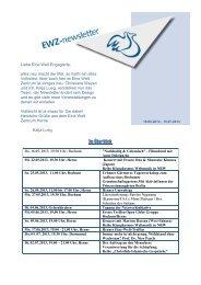EWZ Newsletter - Mai-Juli 2013.pdf - Eine Welt Zentrum Herne