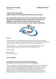 Newsletter _10_11 - Eine Welt Zentrum Herne