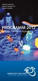 aktuelle Jahresprogramm - Eine Welt Zentrum Herne