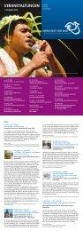 Veranstaltungsübersicht - Eine Welt Zentrum Herne