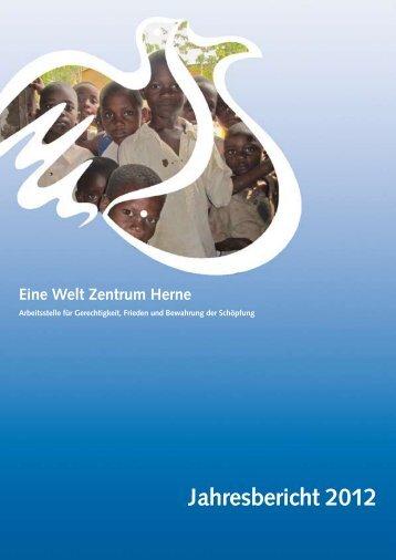 Jahresbericht 2012 - Eine Welt Zentrum Herne