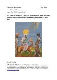 Newsletter _1_11 - Eine Welt Zentrum Herne