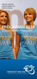 PROGRAMM 2011 - Eine Welt Zentrum Herne