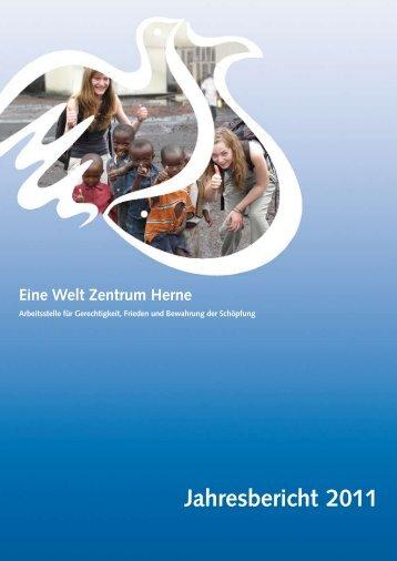Hier zu unserem Jahresbericht 2011 - Eine Welt Zentrum Herne