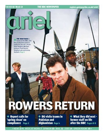 to see an electronic edition of this week's Ariel - Ex-bbc.net